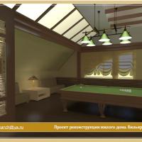 Проект реконструкции жилого дома в Коломенском районе Московской оласти