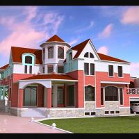 Загородный жилой дом