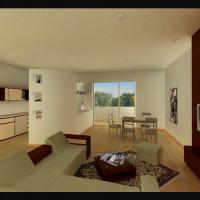 Интерьер квартиры. Гостинная