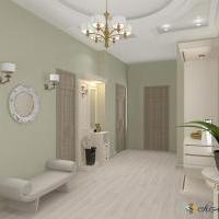 """Дизайн интерьера квартиры c различными стилевыми идеями площадью 111м.кв  ЖК """"Дальняя""""г.Краснодар"""