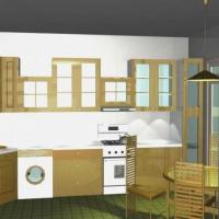 Дизайн - проект кухни