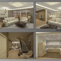 эскизный проект интерьеров квартиры на юго-западе