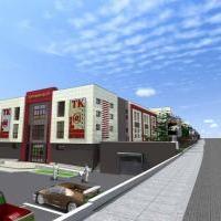 Проектное предложение торгово-развлекательного центра в г.Воскресенск Московской области