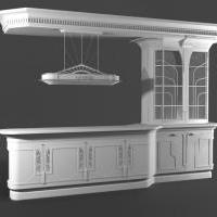 Проектирование мебели (3D моделирование и 3D визуализация)