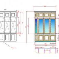 Проект книжного шкафа для частной библиотеки