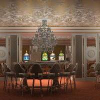 Визуализация интерьера игрового зала казино
