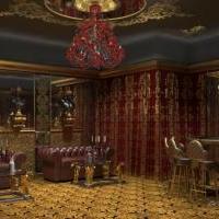 Визуализация интерьера ВИП-зала казино
