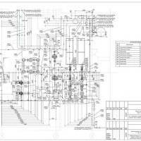 план венткамеры с оборудованием системы холодоснабжения 2 в одну линию